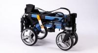 Move XU, Travel Rollator, Four Wheel Rollator, 2-Way Folding Rollator with Storage Bag