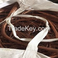 COPPER WIRE SCRAP 99.99% MILLBERRY 2020 FACTORY SELL COPPER WIRE SCRAPS 99.99% WITHOUT RUBBER
