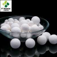 99% AL2O3 High Alumina Ceramic Ball Function As Catalyst Support Media