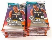 Prizm Mosaic Basketball Trading Card CELLO Box