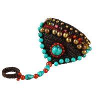 BOHO traditional handmade braiding Bracelet and Ring - MCS0248