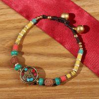 Nepalese Pearl traditional handmade braiding Bracelet- MC1003-1