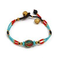 A Nepalese Pearl traditional handmade braiding bracelet
