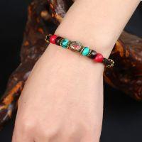 Nepalese Pearl traditional handmade braiding Bracelet - MCS0114