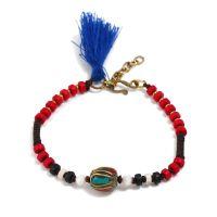 Tassels traditional handmade braiding bracelet.