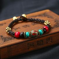 Nepalese Pearl traditional handmade braiding bracelet