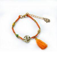 Life tree tassels handmade braiding Bracelet - MCS080