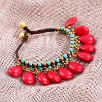 Traditional handmade braiding bracelet.