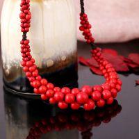 Traditional boho style beading Necklace - MCX016