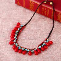 Traditional boho style beading Necklace - MCX010
