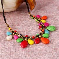 Traditional boho style beading Necklace - MCX014