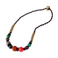 Boho style Rudraksha necklace - MCX080