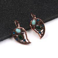 Boho Gothic style heart breaking Earrings - E0651