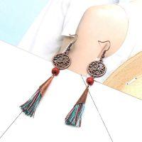 Bohemian tassel Earrings - HQEF-0003