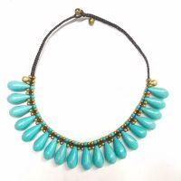 Traditional boho style beading Necklace - MCX011