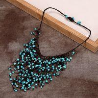 Traditional boho style turquoise Necklace - MCX026