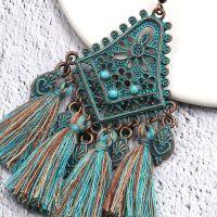 Vintage tassel earrings - E0022