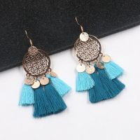Vintage tassel earrings - E0102