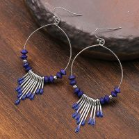 Vintage tassel earrings - HQEF-0160