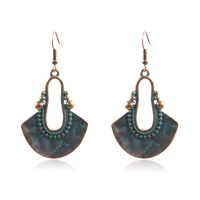 Bohemian alloy earrings - HQEF-1187