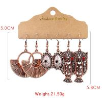 Gothic style muti earrings - HQEF-1602