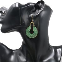 Vintage Alloy Earrings - HQEF-1037