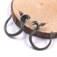 Vintage snake earrings - HQEF-1066