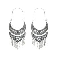 Vintage alloy earrings - HQEF-0501