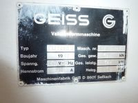 Giess Vacuum Former