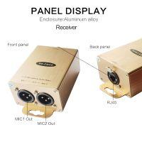 2-CH 48V Phantom Power Microphone Extender Over Cat5/6 MIC audio interface converter