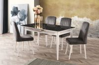 M-776 Table / S-823B Chair Dining Room Set