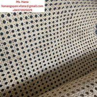 Friendly Hexagon Natural Bleached Open Mesh Webbing Cane (WS: +84372025029)
