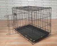 Dogs Cages With Sanitary Tray Pet Crate No Lead Coating