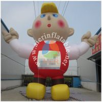 Inflatable star dance character modeling D008
