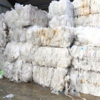 Film Scrap / Waste Clear Recycled Plastic Roll Bales LDPE Agriculture Film Scrap