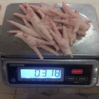 Quality chicken feet frozen chicken paws / paws chicken