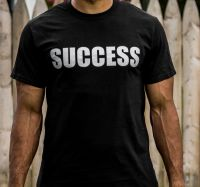 Short Sleeve Embroidered Slogan T-shirt
