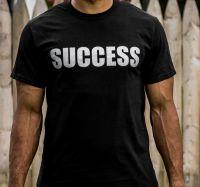 SUCCESS SHORT SLEEVE WHITE TSHIRT