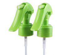 28/410 mouse shape transparent plastic non spill hand mini trigger sprayer for garden