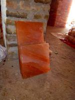 decorative pink salt