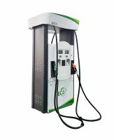 Haosheng brand Eco series four nozzle green color fuel dispenser