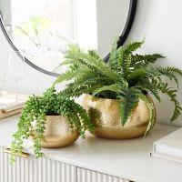 Antique Luxury Flower Vase Metal Wedding for Decoration