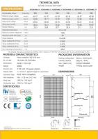 550W HM6L-72 mono-crystalline solar panel