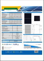 535W-550W Monocrystalline Silicon Series Solar Panel