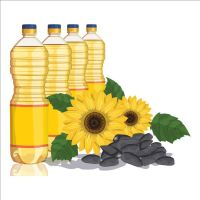 Refined Sunflower Cooking Oil .