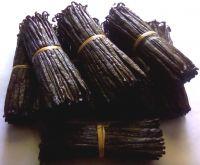 100% Premium  Black Vanilla beans