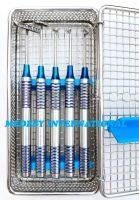 Soft Brushing Kit, Dental Implant Instrument Lingual Flaps Surgery 5 pcsSet