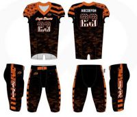 Wholesale High quality Custom American football uniform