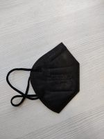 FFP2 facemask . BLACK CE-certified.