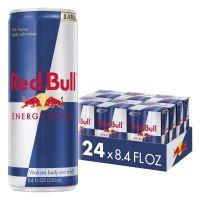 Red bull energy drink original packed